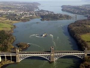 Menai Bridge, Wales