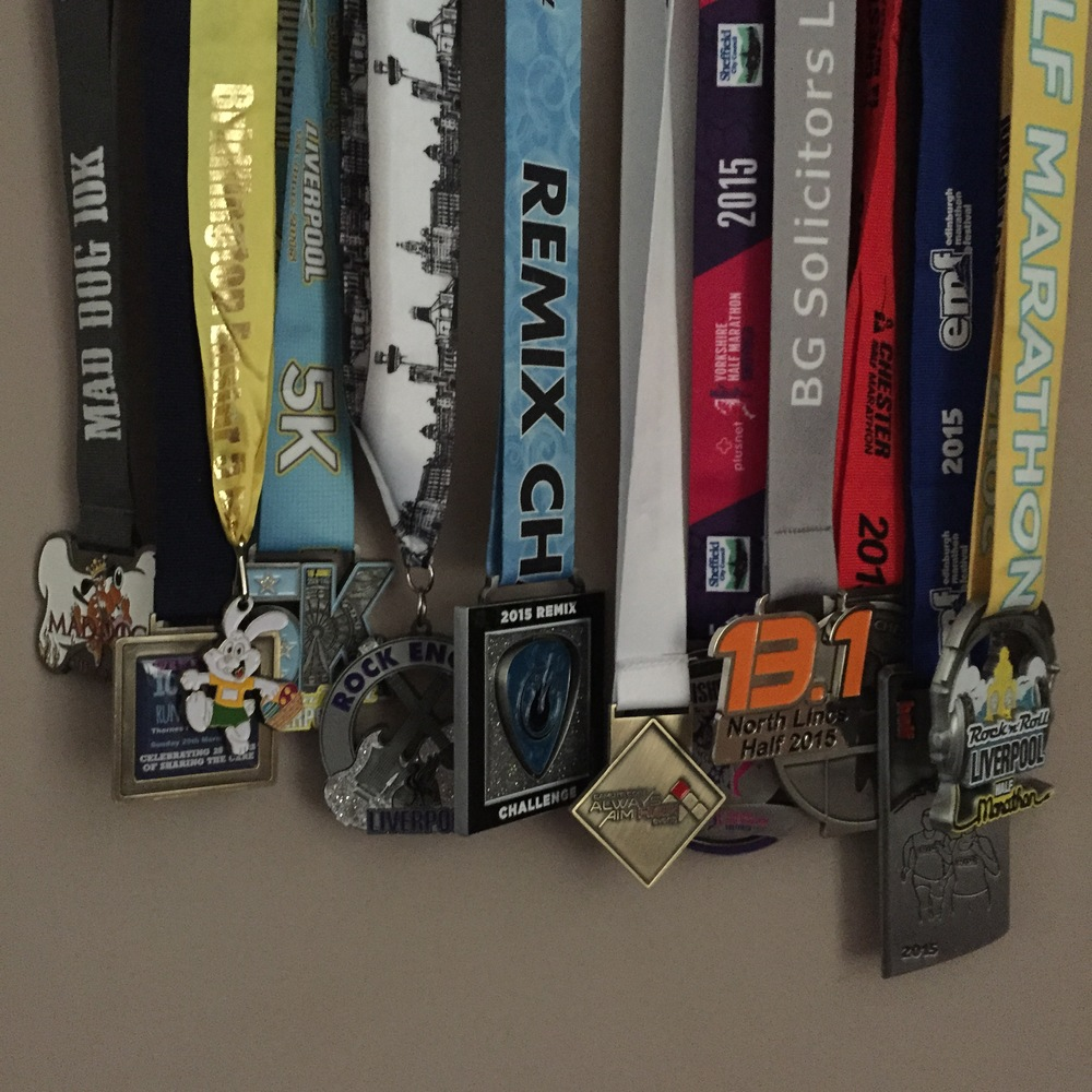 Lovely Running Bling!