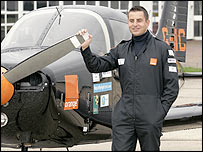 Fastest blind pilot - Steve Cunningham