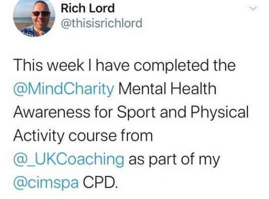 Mental Health Awareness course