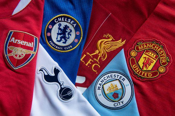 Top six clubs